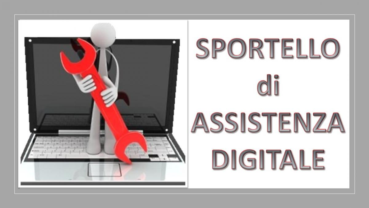 sportello di assistenza digitale